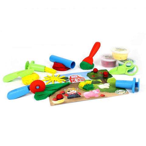 Green Toys Dough Tool Essential Set