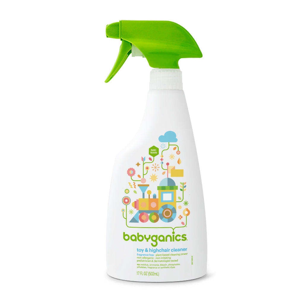 Babyganics Toy & Highchair Cleaner 17oz