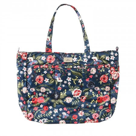 Jujube Super Be Classic Diaper Bag - Midnight Posy