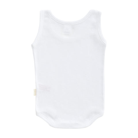 Cambrass Body Sleeveless White