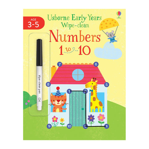 Usborne - Numbers 1 to 10 Book