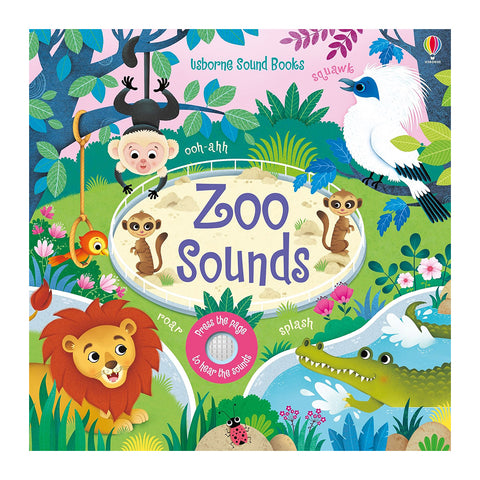 Usborne - Zoo Sounds Book