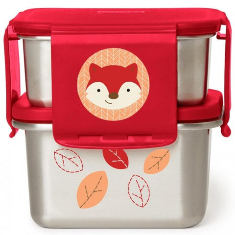 Skip Hop Zoo Stainless Steel Lunch Kit