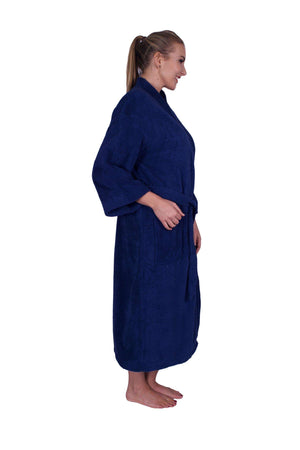 Puffy Cotton Adult Unisex Kimono Bathrobe 100% Natural Soft Cotton Bathrobes Puffy Cotton