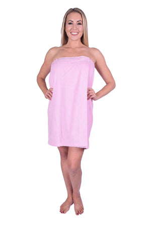 Puffy Cotton Terry Velour Cotton Spa Body Wrap ( Women )