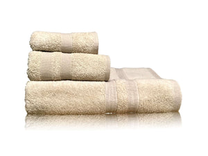 Puffy Cotton Luxury Hotel & Bath Towel Set (1 x Bath Towel + 1 x Hand Towel + 1 x Washcloth )