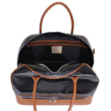 Carbonio Drop Bottom Duffel (Available in 4 Colors)