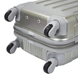 "Polaris 20"" Metallic Hardside Expandable Carry-On Spinner (Available in 3 colors)"