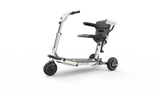 Portable ATTO mobility scooter  w/ armrests splits in two for easy travel & transport