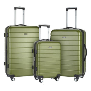 Wrangler 3-in-1 Hardside Luggage Set 3-Pc (Available in 4 colors)