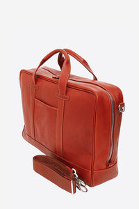 Marco Polo Leather Briefcase (Available in 5 Colors)