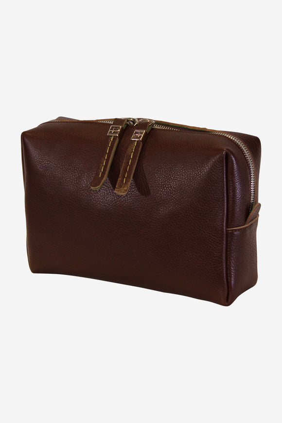 Marco Polo Leather Dopp Kit (Available in 3 colors)