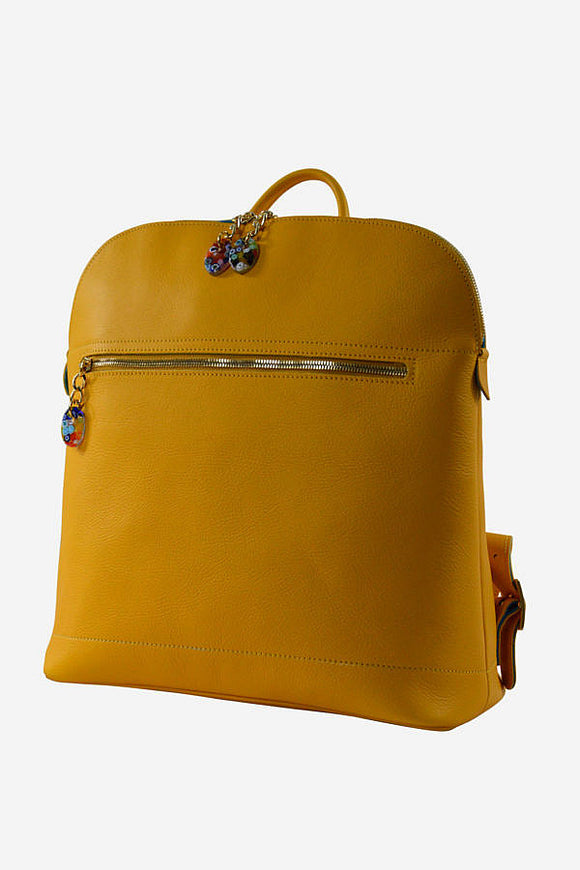 Murano Leather Backpack (Available in 6 Colors)