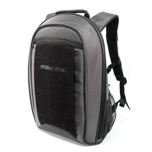 "A 17.3"" Graphite Laptop Backpack w/ padded shoulder straps, Padded Computer Compartment, Removable ID Holder w/ Multiple Anchor Locations, Custom Molded Fasteners & Padded Back Panel"
