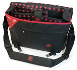"16""-17"" Sumo Messenger Bag (Available in 4 colors)"