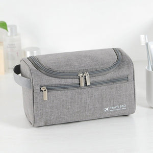 UOSC Men Hanging Cosmetic Bag Business Makeup Case Women Travel Make Up Zipper Organizer Storage Pouch Toiletry Wash Bath Kit
