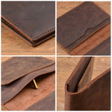 Leather Passport & ID Wallet (Available in 6 Colors)