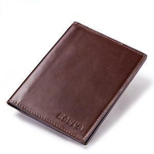 Slim Leather Passport Case