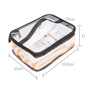 Transparent Toiletry Bag (Available in 3 sizes)