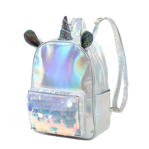 Unicorn + Mermaid = Love Backpack