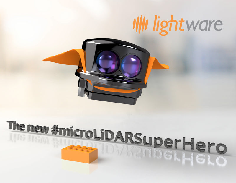 The new microLiDAR Superhero microLiDAR
