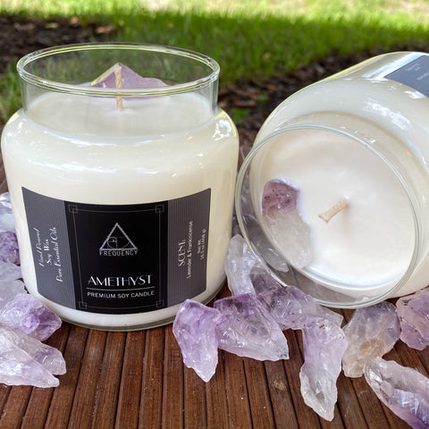 Amethyst Soy Candle