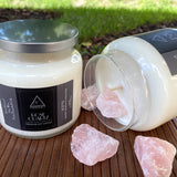 Rose Quartz Soy Candle