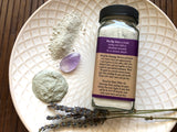 Exfoliating Lavender and Amethyst Cleansing Grains and Face Mask