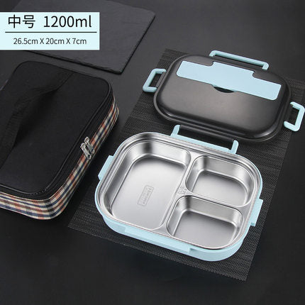 Japanese Stainless Steel Thermal Lunch Box