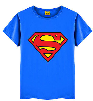 Boy's Superman Short Sleeve T-Shirts 2T-6T