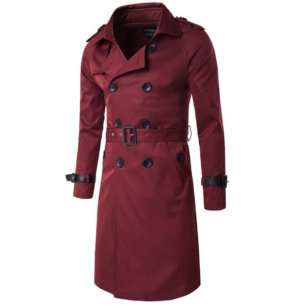 Men's Double Breasted Trench Coats