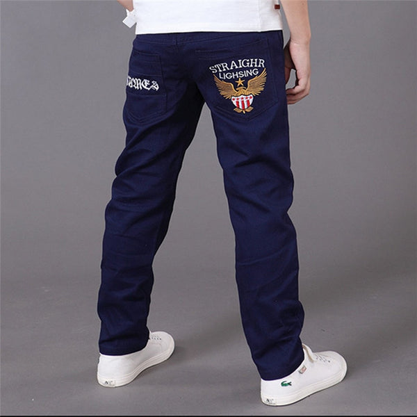 Boy's Elastic Waist Pencil Pants 4T-16