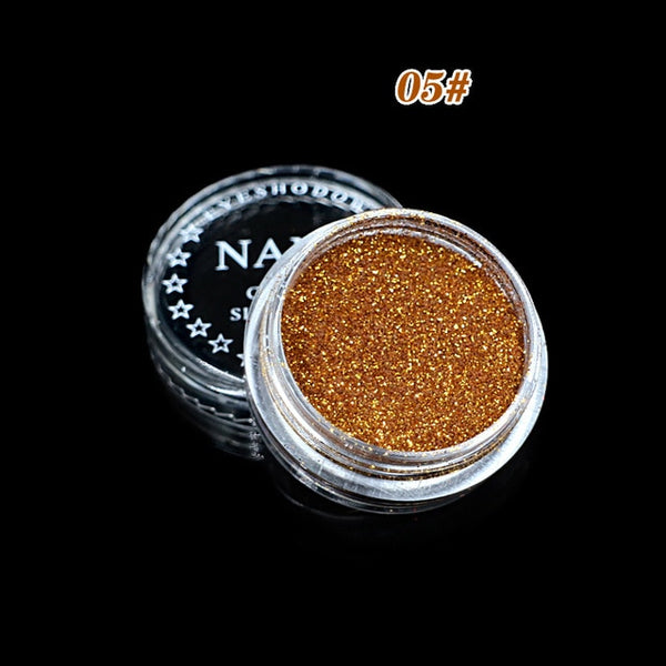 ELECOOL Glitter Eyeshadow Powder Makeup