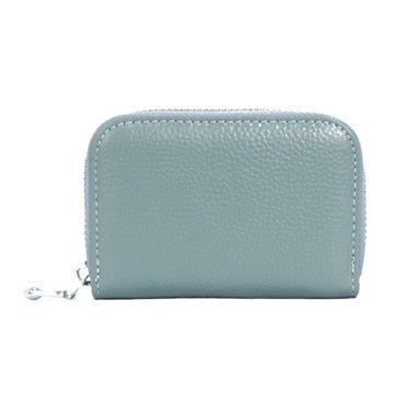 WESTERN AUSPICIOUS Leather Women's Credit Card Holder