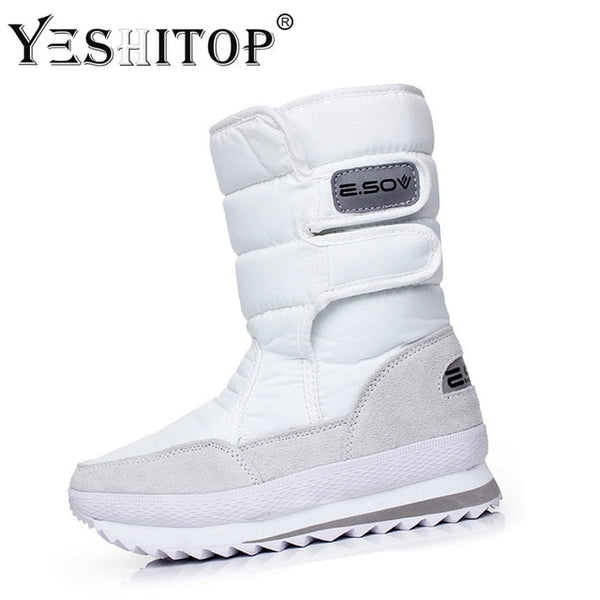 Women's Colorful Snow Boots