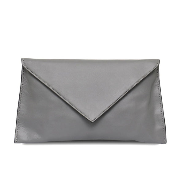 MONFER Mini Italian Leather Clutch Purse