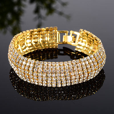 Beautiful  Multi-layer Bling Bracelet