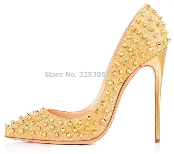 Women's Candy Color High Heel Pumps