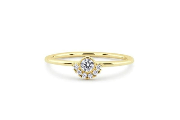 Perfect Stylish Cubic Zirconia Ring