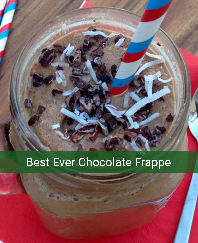 Best Ever Chocolate Frappe