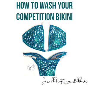 How To Wash Your Competition Suit