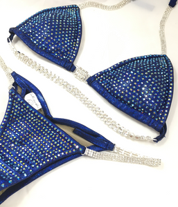 Jewell Custom Competition Bikini-Heavy Coverage Crystals