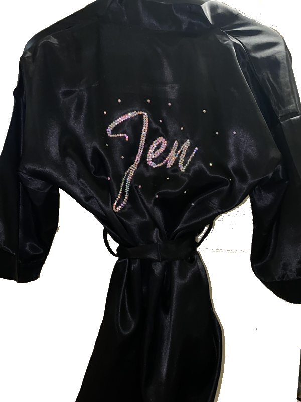 Jewell Bikini Competitor Personalized Robe