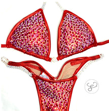 Jewell Red Pro Cabernet Blend Competition Bikini