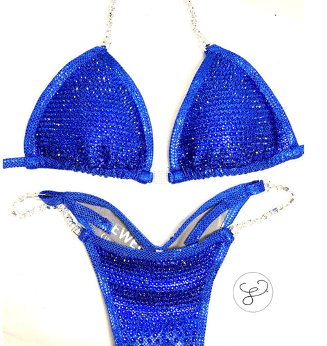Jewell Elite Pro Monochrome Royal Competition Bikini
