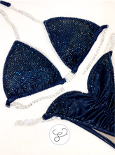 Jewell Navy Pro Monochrome Competition Bikini