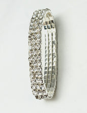 Jewell 3-Row Stretch Bling Bracelet