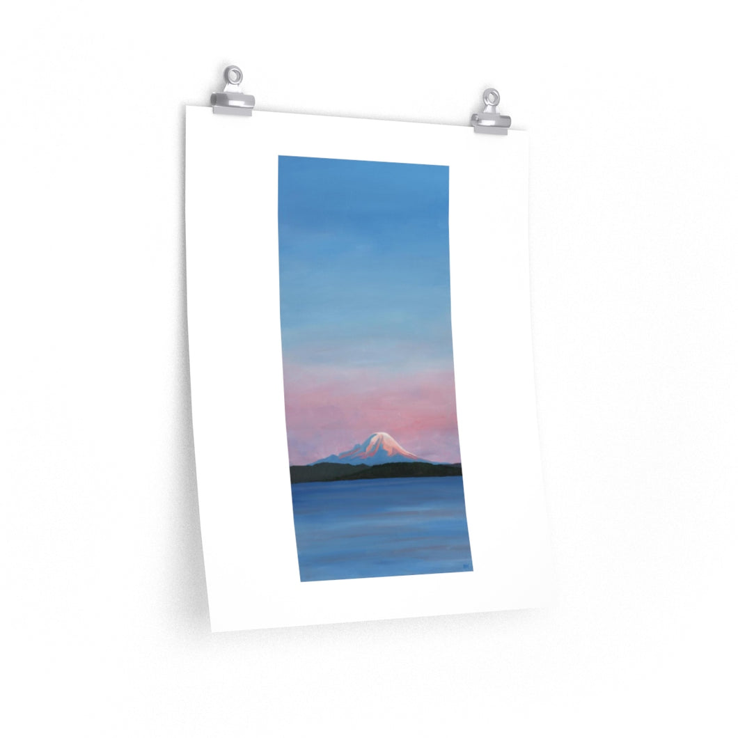 Mt. Rainier Sunset - Print
