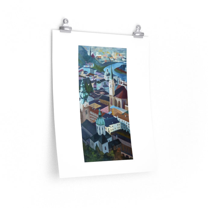 View from Salzburg Castle - Print
