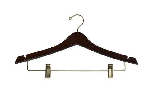 Contoured Ladies' Suit Hanger 8-Pack